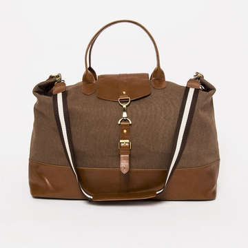 Brouk and Co ''The Journeyman'' Large Tour Bag - Brown
