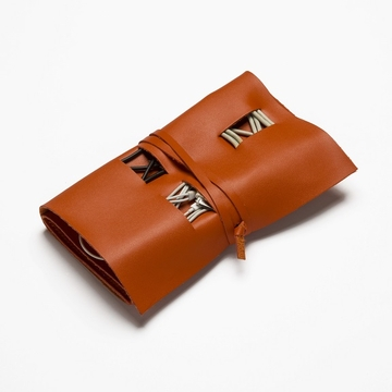 Brouk and Co Travel Cord Roll - Orange