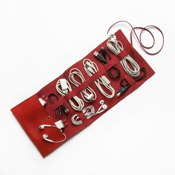 Brouk and Co Travel Cord Roll - Red