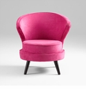 Bubble Gum Pink Chair by Cyan Design