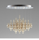Bubbles Pendant Light Brown Glass by Cyan Design