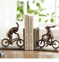 Bunnies on Bikes Bookends by SPI Home