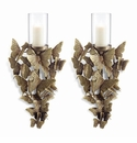 Butterfly Wall Sconces Set of 2 by SPI Home