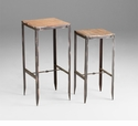 Camelback Angle Iron Nesting Tables by Cyan Design