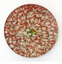 Carnation Decorative Glass Coaster by Working Title