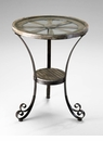 Carson Designer Iron Side Table by Cyan Design