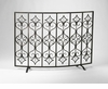 Casablanca Bronze Fireplace Screen by Cyan Design