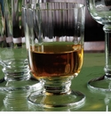 Casafina 14oz Optic Glass Double Old Fashioned Set of 6