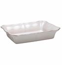 Casafina Bistro White Large Rectangular Baker