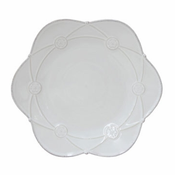 Casafina Meridian White Decorated Salad Plate