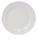 Casafina Meridian White Round Decorated Salad Plate (6)