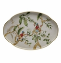 Casafina Monkeys Oval Scalloped Tray