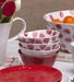 Casafina Spot On Red Spots Cereal Bowl