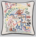 Cat Studio Embroidered State Pillow - Maryland