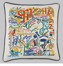 Cat Studio Embroidered State Pillow - Michigan
