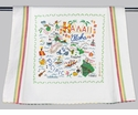 Cat Studio State Dish Towel - Hawaii
