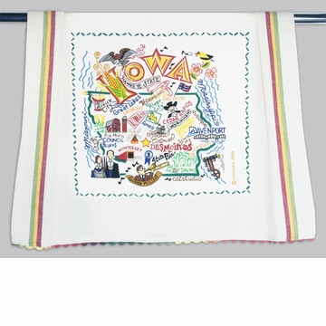 Cat Studio State Dish Towel - Iowa