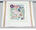Cat Studio State Dish Towel - Ohio