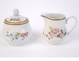 Charmed Rose Porcelain Sugar & Creamer Set