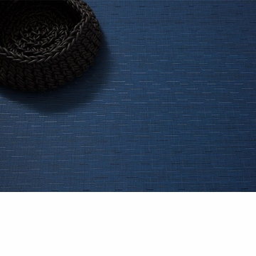 Chilewich Bamboo FloorMat 23X36 Lapis