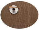Chilewich Bamboo Oval Placemat 14X19.25 Amber