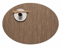 Chilewich Bamboo Oval Placemat 14X19.25 Camel