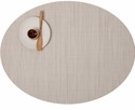 Chilewich Bamboo Oval Placemat 14X19.25 Chino