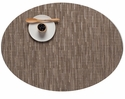 Chilewich Bamboo Oval Placemat 14X19.25 Dune