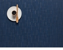 Chilewich Bamboo Placemat 14X19 Lapis