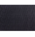 Chilewich Bamboo Table Mat 14x19 - Jet Black