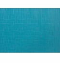 Chilewich Bamboo Table Mat 14x19 - Teal