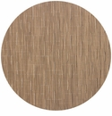 Chilewich Bamboo Table Mat 15 Round - Camel