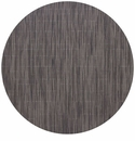 Chilewich Bamboo Table Mat 15 Round - Grey Flannel