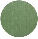 Chilewich Bamboo Table Mat 15 Round - Lawn