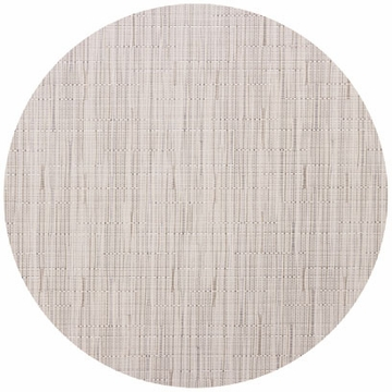 Chilewich Bamboo Table Mat 15 Round - Oat