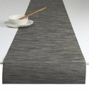 Chilewich Bamboo Table Runner 14x72 - Grey Flannel