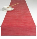 Chilewich Bamboo Table Runner 14x72 - Poppy