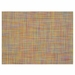 Chilewich Basketweave Table Mat 14x19 - Crayon