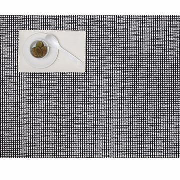 Chilewich Grid Table Mat 14x19 - Black