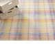 Chilewich Plaid Floor Mat 72X106 Sorbet