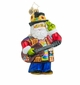 Christopher Radko A Claus for Peace Santa Claus with Guitar Ornament