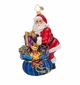 Christopher Radko A Gift for You Santa Claus Ornament