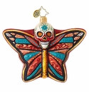 Christopher Radko Deadly Beautiful Butterfly Ornament