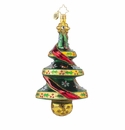 Christopher Radko Deer Pine Christmas Tree Ornament