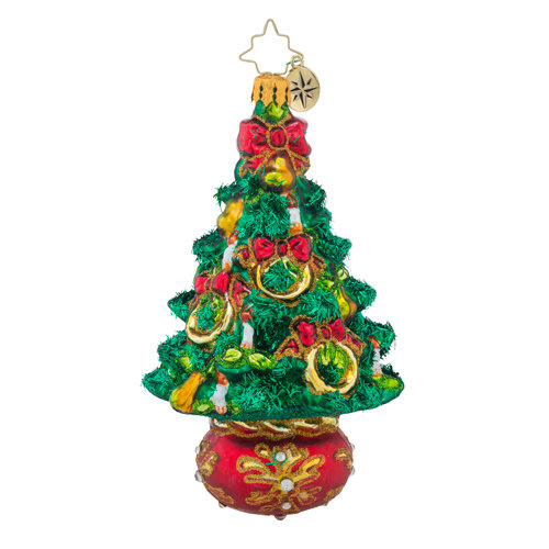Christopher radko five golden rings christmas tree for 5 golden rings decorations