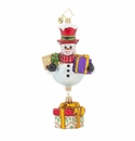 Christopher Radko Frosty's Favorites Snowman Ornament