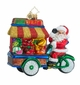 Christopher Radko Healthy Haul Santa Claus with Fruit Stand Ornament