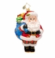 Christopher Radko Merry Mara Santa Claus Ornament