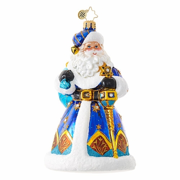 Christopher Radko Mixed Bag Santa Ornament
