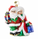 Christopher Radko Out Shopping Claus Ornament
